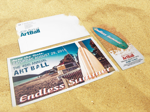 Art Ball Printed Mailer Pieces
