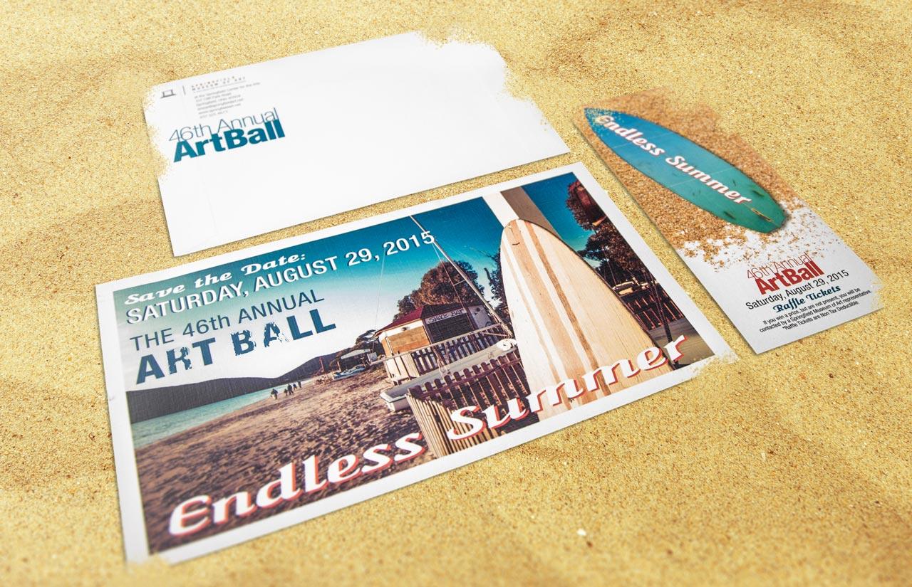 Art Ball Print Mailer