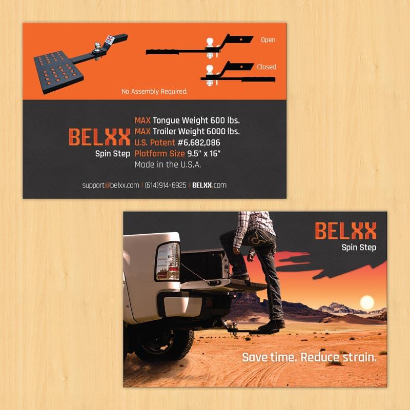 Info Card Creative Layout