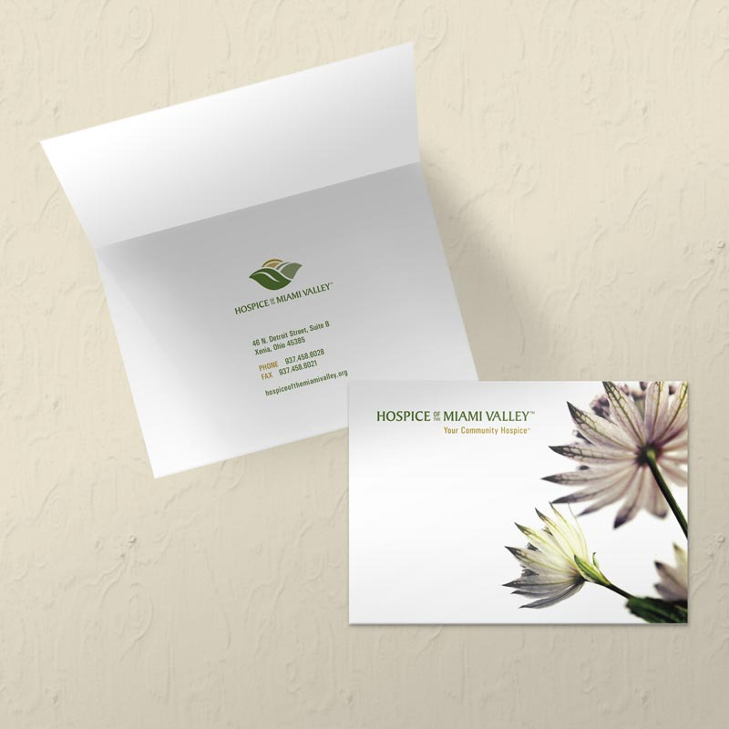 Sympathy Card Design for Hospice