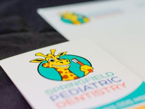 Brochure and Stationery for Springfield Pediatric Dentistry.
