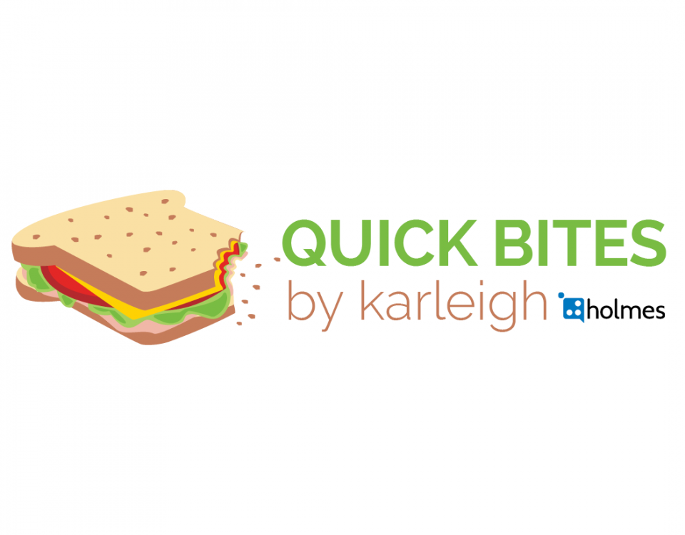 Quick Bites by Karleigh Lunch Break Reading Logo