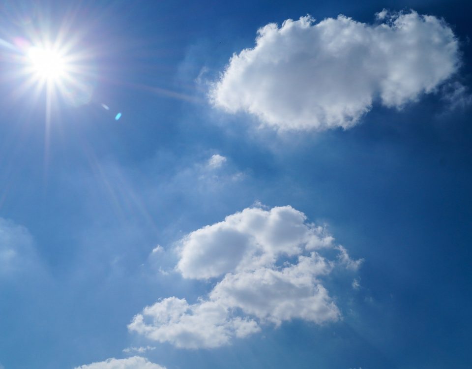 If You Can Dream it, We Can Create it! clouds and sunshine