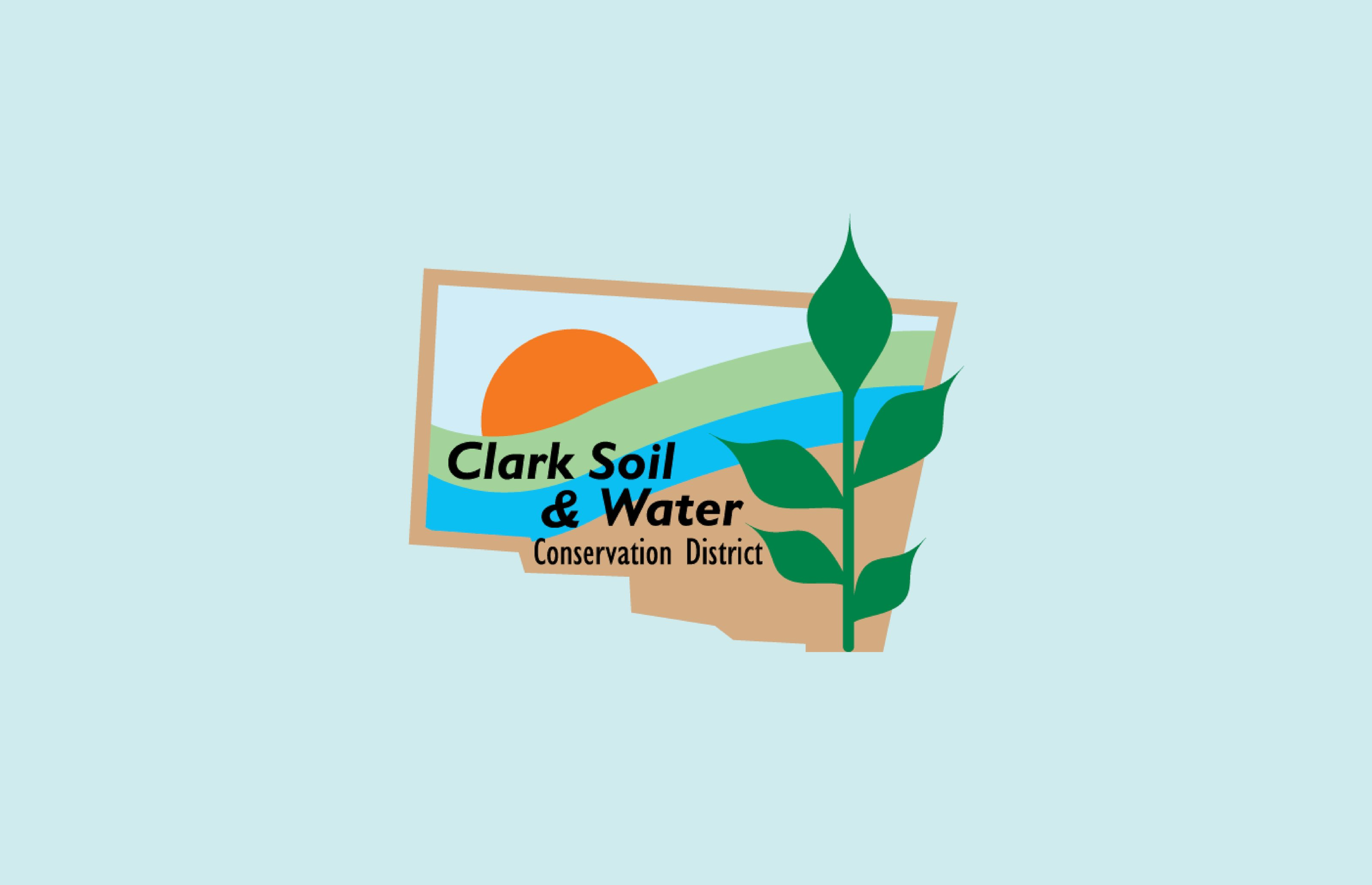 Clark Soil & Water Conservation District Logo Cover Image