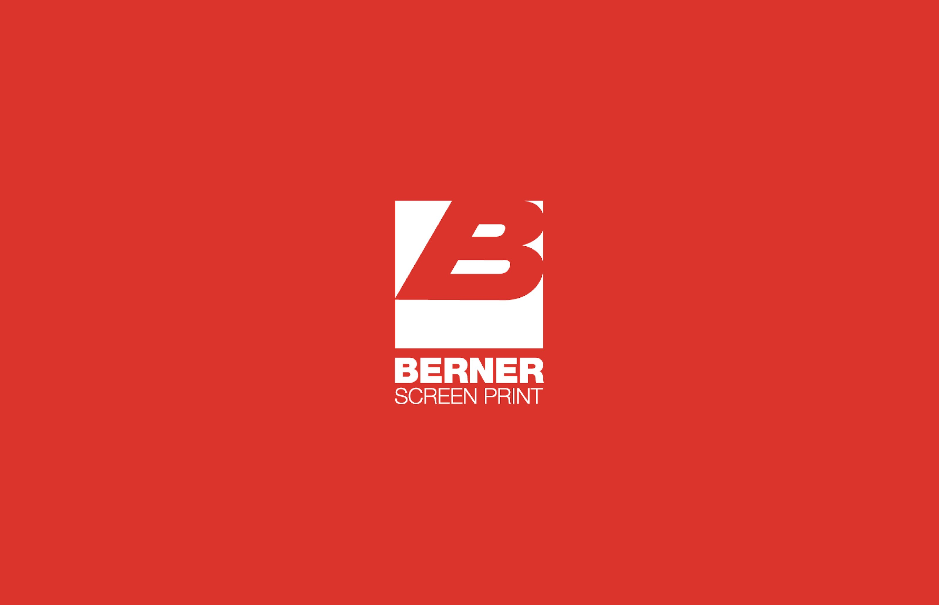 berner screen print client work cover image