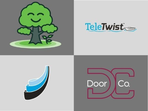 Logos designed by Holmes Marketing